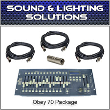 Chauvet Obey70 Led Controller Dmx Controller *New* Obey-70 Dmx Control Obey 70
