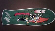 "Santa Cruz Keith Meek Slasher replica Skateboard Deck Shaped Sticker over7"""