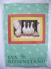 Eva Rosenstand Clara Waever Cross Stitch Kit Geese and Duckling No. 14-106