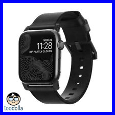 Brand - Nomad - Modern Strap - Horween Leather for Apple Watch 42mm (Black)