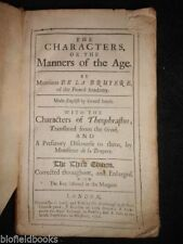 Philosophy 1700-1799 Antiquarian & Collectable Books