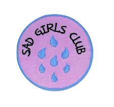 Sad Girls Club Iron on Patch