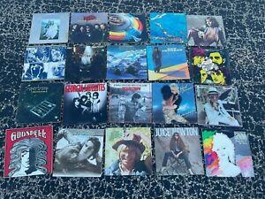 Vinyl Lot of 20 vintage record album collection (LOT RH208) ROCK & ROLL