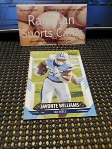 2021 Panini Score # 312 Javonte Williams North Carolina Tar Heels Broncos Rookie