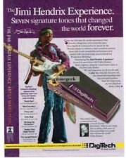 2005 DIGITECH Jimi Hendrix Experience Effects Pedal Vtg Print Ad