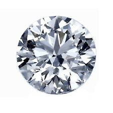 Certificate 2.07ct. F Color, I1 Clarity, Round Brilliant EX Cut Loose Diamond