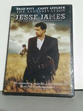 The Assassination of Jesse James by the Coward Robert Ford DVD New Sealed