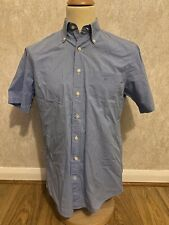 Gant American Gingham Short Sleeve Shirt Size Medium