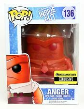 Inside Out Crystal Anger Pop Vinyl Entertainment Earth Exclusive