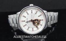 Bulova 96A143 Mechanical Skeleton Stainless Steel Silver Tone Men's Watch $475