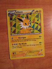 EX JOLTEON Pokemon BLACK STAR PROMO Card BW91 Black White Sylveon Collection TCG