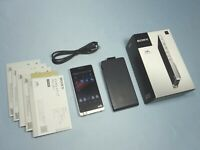 Sony Hi-Res walkman NW-ZX1 128GB Silver Portable MP3 Player Android Mounted Used