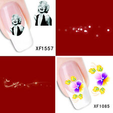 2Sheet/Exquisite Fashionable Hot Diy Nail Stickers Xf1557+1085