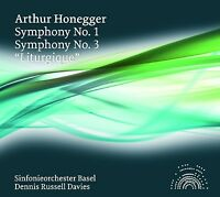 DENNIS RUSSELL DAVIES/SO BASEL - SINFONIEN 3+1  CD NEU ARTHUR HONEGGER