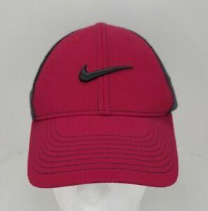 Nike Golf VRS Flexfit Hat Cap M/L Size Red Stretch Fit Golfer Headwear 20XI Men