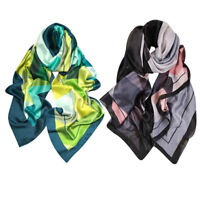 For Women Silk Beach Long Shawl Multi-Color Wraps Scarves Plus Size Female Stole