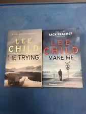 Lee Child Jack Reacher book bundle MORE LISTED (4)