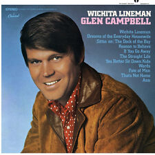 Glen Campbell Wichita Lineman 1lp Vinyl 2017