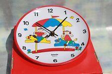 Childrens Quartz Movement Wall Clock, New