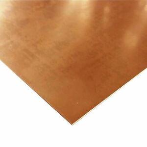 """C110 Copper Sheet, 0.021"""" x 18"""" x 36"""""""