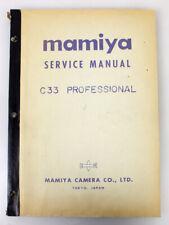 Mamiya C33 Service Manual