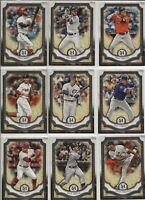 2018 Topps Museum Collection Singles (#1-100) CHOICE you pick make lot