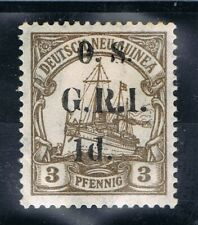 GERMAN COLONIES   NEU GUINEA  O.S GRI  M.H SIGNED BBP