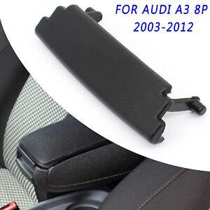 For Audi S3 8P 03-12 Car Armrest Center Console Cover Lid Latch Clip Catch Black