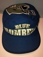 Rare Vintage 80s CFL Winnipeg Blue Bombers Painters cap hat Football Canada NFL