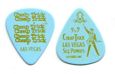 Cheap Trick Rick Nielsen Light Blue Las Vegas Guitar Pick #2 - 2009 Tour