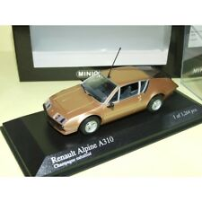 RENAULT ALPINE A310 1976 Copper MINICHAMPS