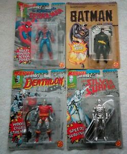Lot of 4 Vintage 90's Action Figures