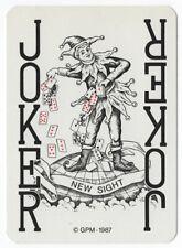 1 playing (swap) card - Joker - New sight [3206]