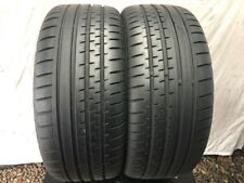 225 40 18 CONTINENTAL SPORT CONTACT 2  TYRES  6 MM  TREAD  X2   92Y  XL  AO