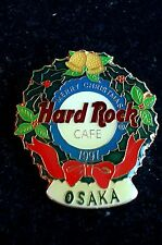 HRC Hard Rock Cafe Osaka Christmas 1997 Logo