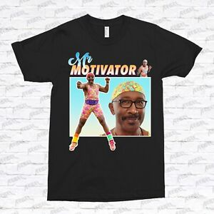 Mr Motivator T-Shirt homage 90s vintage classic retro work out funny 80s