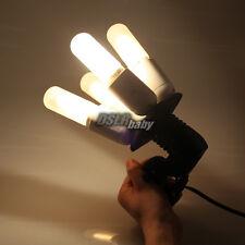 4in1 E27 Socket Splitter Light Lamp Bulb Adapter Holder for Studio Photo Softbox