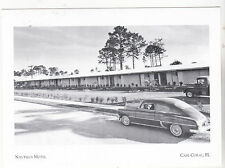 """~Post Card~""""The Nautilus Motel"""" w/Old Car & Truck Pass *Cape Coral, FL. (#106)"""