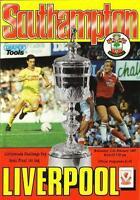 1987 LEAGUE CUP SEMI-FINAL - SOUTHAMPTON v LIVERPOOL