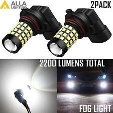 2x 9006 HB4 51-LED Fog Light Bulb for Dodge RAM 1500 2500 3500