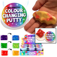 Heat Sensitive Colour Changing Smart Putty Slime Toy Boys Girls Christmas Filler
