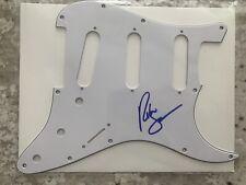 Richie Sambora Signed Fender Stratocaster Pickguard Bon Jovi
