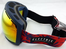 Electric EG2 Snow Goggles Blue Fronds - Bronze/Red Chrome + Light Green Lens