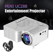 Micro UC28B Mini Multimedia LED Projector Home Cinema TF USB Portable Durable