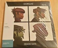Gorillaz - Demon Days - (VMP Exclusive) Double Red Vinyl LP - New & Sealed