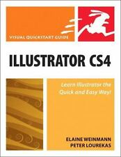 Visual QuickStart Guide: Illustrator CS4 for Windows and Macintosh by Lourekas,