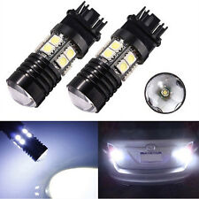 New 6000K White 3157 Back Up Reverse Projector Cree 12SMD Chip LED Lights Bulbs