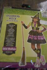 New SpellBound Witch Costume Girls Child Medium 8-10 Costume