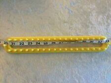 "Knifty Knitter Yellow Rectangular Long Loom 13"" Long 38 Pegs Scarf Crafts"