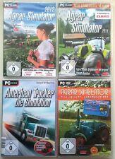 American Trucker Simulator + Agrar 2012 + 2011 + Historische Landmaschinen PC